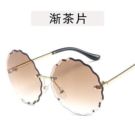 Yangjing-hl Gafas de Montura Ocean Piece Gafas de ...