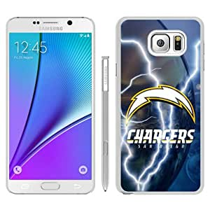 High Quality Samsung Galaxy Note 5 Edge Skin Case ,San Diego Chargers 35 White Samsung Galaxy Note 5 Edge Screen Cover Case Popular And Unique Custom Designed Phone Case