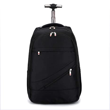 96aa9ded05 DYYTR Trolley Backpack Zaino con Ruote Ruotato Business Bag Campus Scuola  Zaino Bagaglio Portatile Bagaglio Samsonite