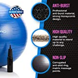 Exercise Ball - 2,000 lbs Stability Ball