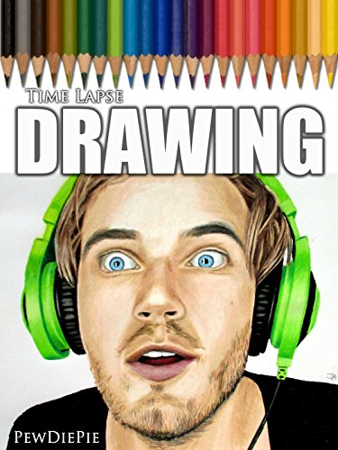 Clip  Time Lapse Drawing Of Pewdiepie