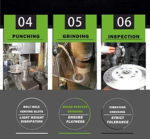 TARAZON Rear Brake Disc Rotor for Honda VTX 1800 C R S T F N C1 C2 C3 2002-2011 VTX1800