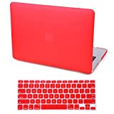 HDE MacBook Pro 13 Inch Retina Case Hard Shell Cover Rubberized Soft Touch Plastic with Silicone Keyboard Skin Fits Mac Notebook 13