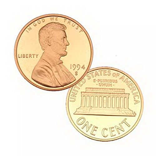 1994 S US Mint Gem Proof Lincoln 1 Cent Penny Coin (Lincoln City Stores)