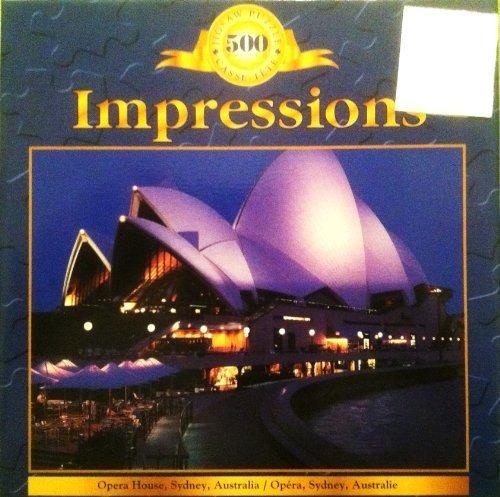Opera by House, Sydney Australia Jigsaw 500 Piece Puzzle by Opera SURE-LOX abe6f5