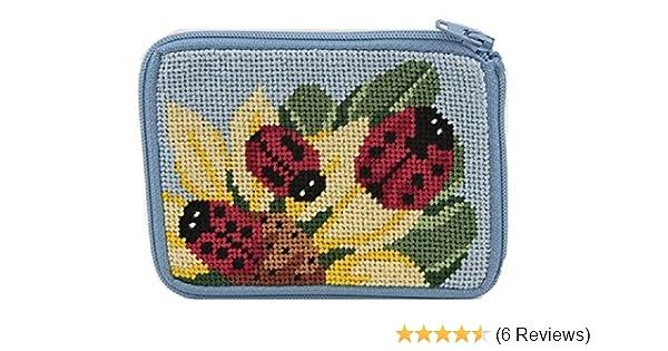 Coin Purse - Ladybug - Needlepoint Kit
