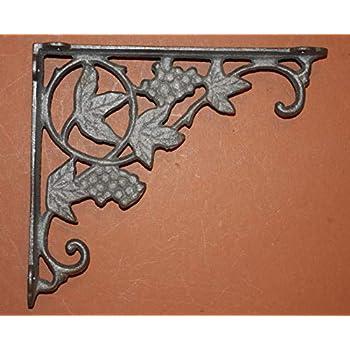 "Rustic Tuscan Kitchen Decor B-42 12/"" Kitchen Open Shelving Shelf Brackets"