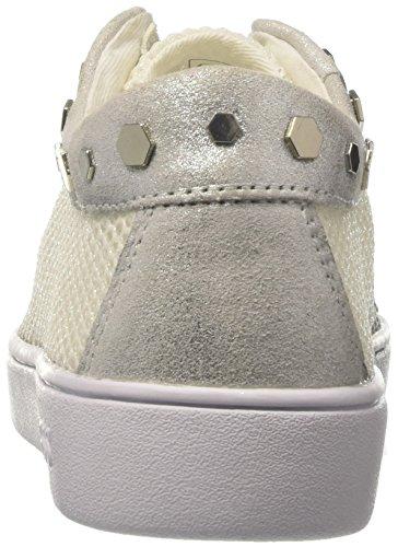 GUESS Gisela, Zapatillas de Tenis para Mujer Bianco