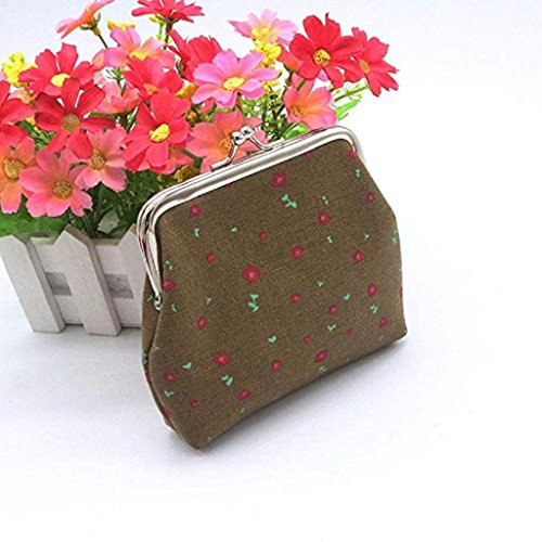 Noopvan 2018 Small Women Printing A Clutch Fashion Girls Wallet Hasp Clearance Wallet Coin Cute Purse Bag rRCnFwqrE