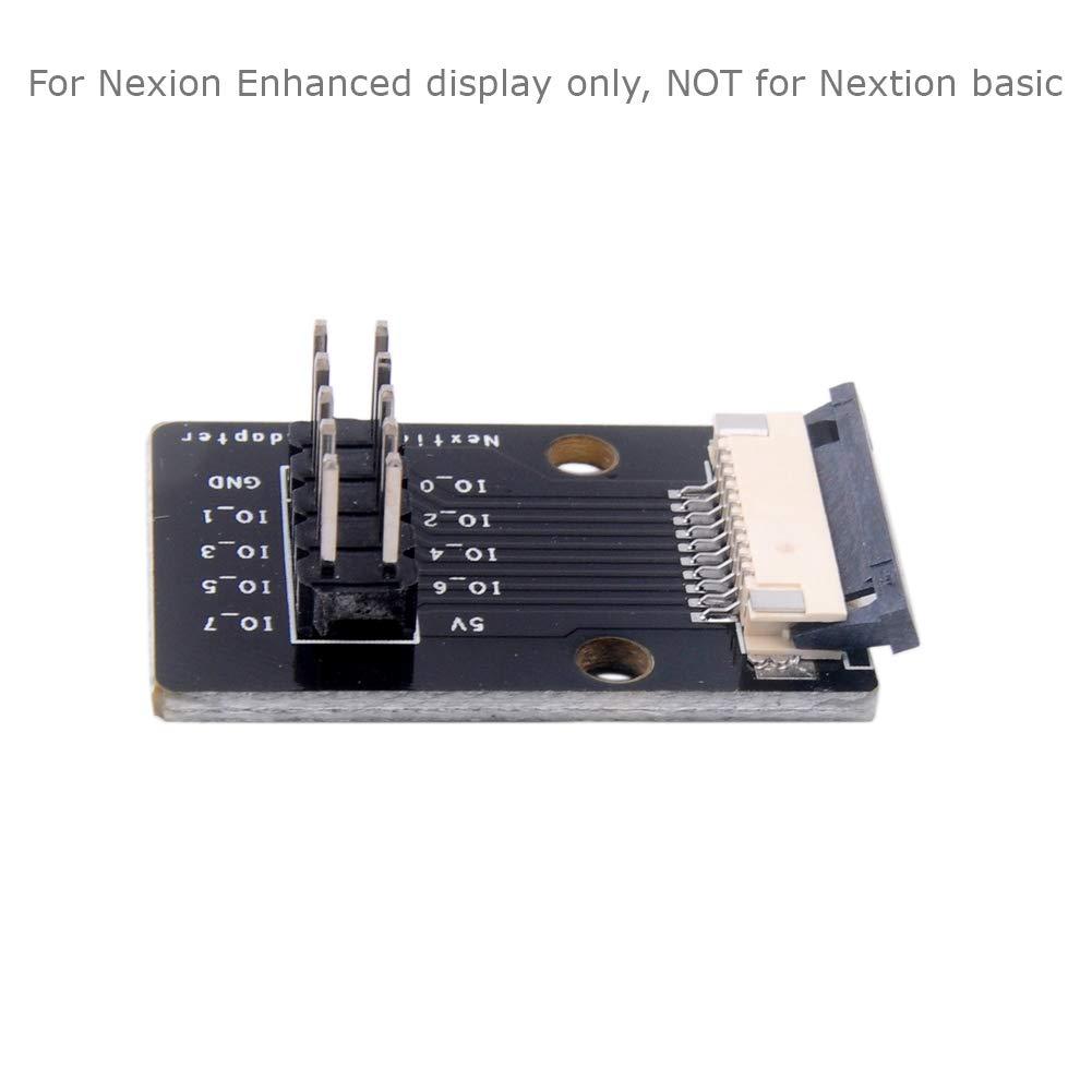 Nextion IO Adapter for Nextion Enhanced HMI Intelligent LCD Display Module GPIOs I//O Extended adaptador e inversor de corriente