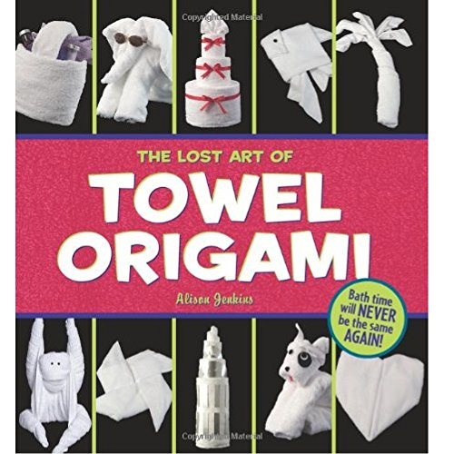 By Alison Jenkins - The Lost Art of Towel Origami (9.1.2005)