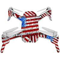 Skin For Yuneec Breeze 4K Drone – Flag Drips | MightySkins Protective, Durable, and Unique Vinyl Decal wrap cover | Easy To Apply, Remove, and Change Styles | Made in the USA