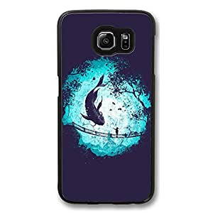 Galaxy S6 Case, S6 Cases, VUTTOO Customize Come Here Shock Absorption Bumper Case Protect S6 Hard PC Black Case Cover for Samsung Galaxy S6