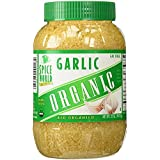 Spice World, ORGANIC GARLIC - LARGE Container - 32 OZ (Pack of 2)