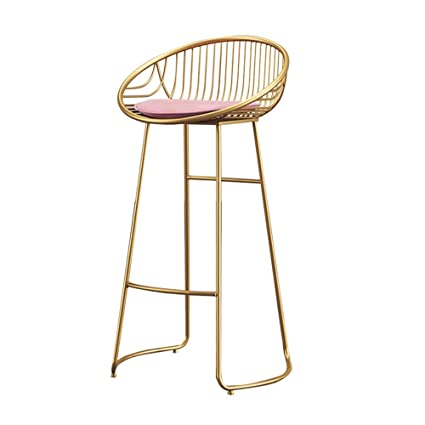 Cool Amazon Com Yan Junau Bar Stool Chair Footstool High Stool Creativecarmelina Interior Chair Design Creativecarmelinacom