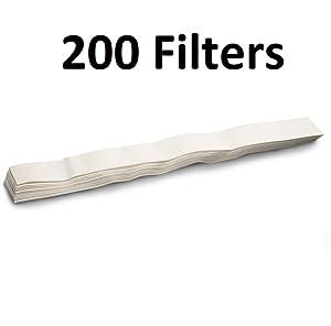 Omega Juicer Filters for Models 500, 1000 and 9000, 200 Pack
