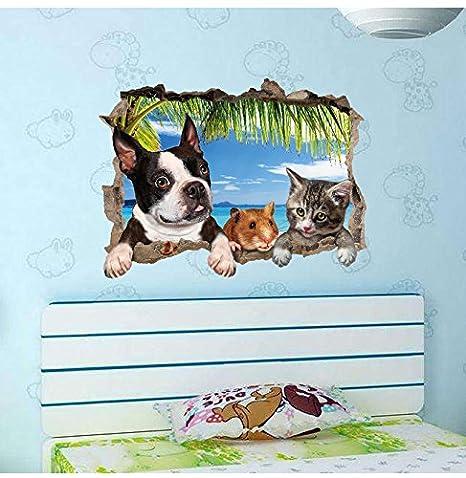 Weaeo Dibujos Animados De Animales Perros Mascotas Cachorro Huella ...