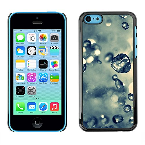 Soft Silicone Rubber Case Hard Cover Protective Accessory Compatible with Apple iPhone 5C - Plant Nature Forrest Flower 61