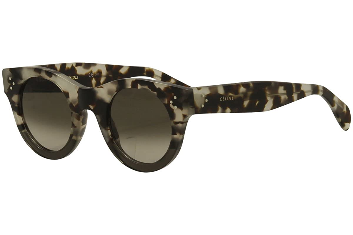 98788bfbf63 Celine 41425 S VNO Grey Havana 41425 S Round Sunglasses Lens Category 3 Size  44 at Amazon Men s Clothing store