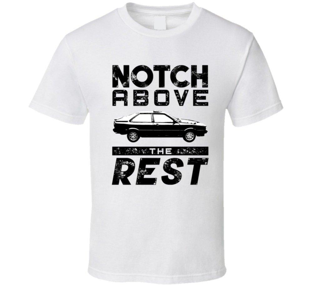 1984 Audi Coupe 2 0 Gt Notch Above Car T Shirt