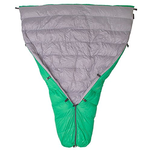 Paria Outdoor Products Thermodown 15 Degree Down Sleeping Quilt – Ultralight Cold Weather, 3 Season Quilt – Perfect for Backcountry Camping, Backpacking and Hammocks