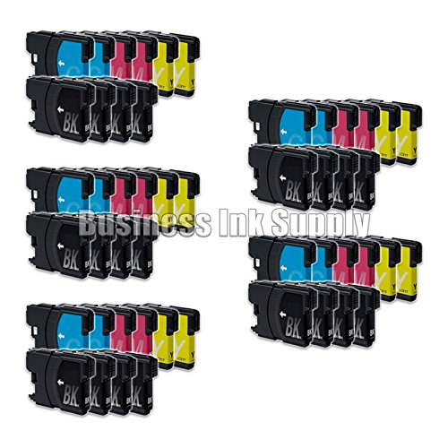 JS 50PK New LC61 Ink Cartridge for Brother MFC-495CW MFC-...