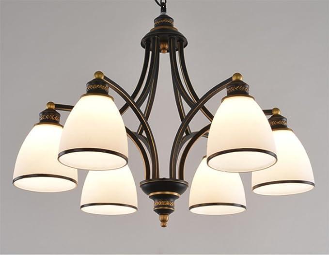 Gzloft lampadario vintage soffitto lampade a sospensione soggiorno