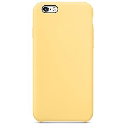 Funda iPhone 6/6S, Carcasa iPhone 6 Funda, Suave Case Cover iPhone 6s Silicona Protección Gota Ultra-Delgado Anti-Rasguño Protectora Caso para iPhone ...