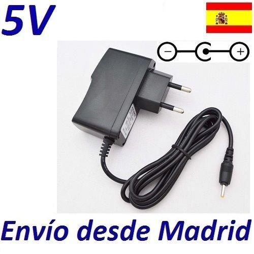 Cargador Corriente 5V Reemplazo Tablet Wolder MiTab Iron Recambio Replacement: Amazon.es: Electrónica