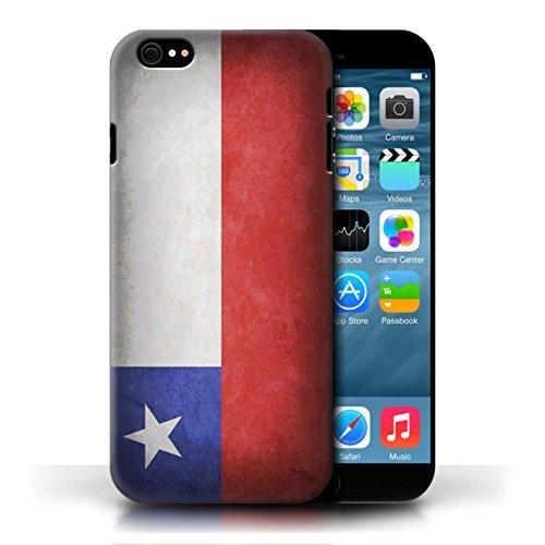Etui / Coque pour Apple iPhone 6/6S / Chili/Chiliean conception / Collection de Drapeau