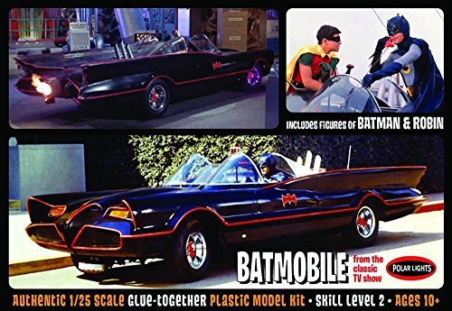 - Batman 1966 TV Series Batmobile 1:25 Model Kit