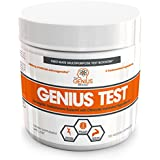 GENIUS TEST - The Smart Testosterone Booster | Natural Energy Supplement, Brain Support, Stress Relief, Fat Loss & Muscle Building with KSM-66 Ashwagandha, Shilajit and Tongkat Ali, 30 Veggie Pills