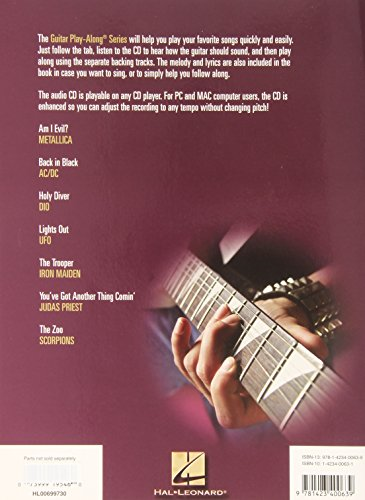 Heavy Metal Vol.54 BK/CD Guitar Play-Along (Hal Leonard Guitar Play-Along)