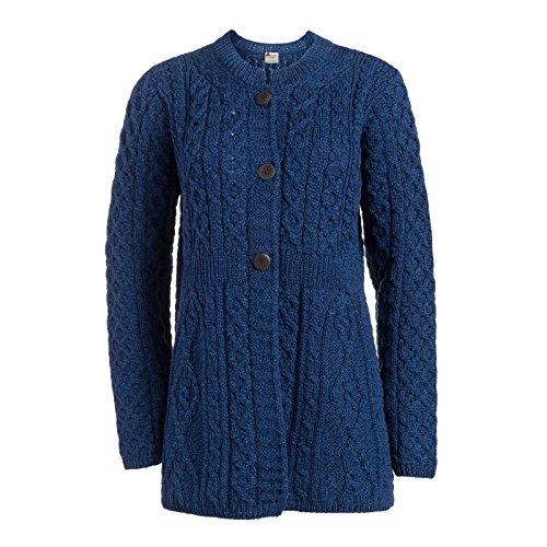 Boyne Valley Knitwear Merino Wool A Line Cardigan (XXLarge)