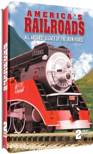 America's Railroads - All Aboard: Legacy of the Iron Horse - 2 DVD Embossed ()