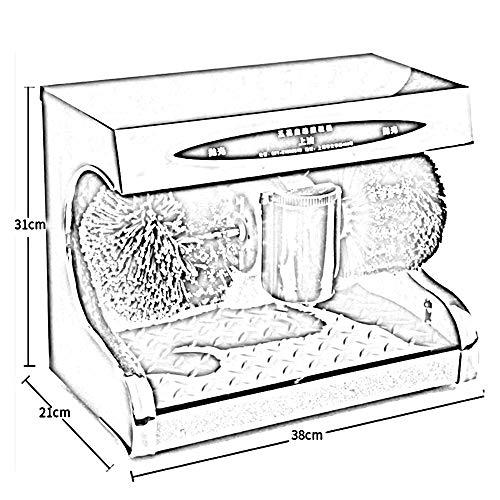 Feifei Shoe Polisher Fully Automatic Electric Sensor Shoe Polisher Shoe-Changing Bench 2 Rotating Cleaning Brush Cotton,45W Non-Slip by Shoe cover machine (Image #1)