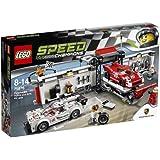 レゴ (LEGO) スピードチャンピオン ポルシェ 919 ハイブリッド& 917K ピットレーン 75876