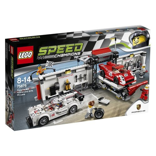 [Lego Speed Champions Porsche 919 Hybrid and 917K Pit Lane 75876] (Animal That Starts With J)