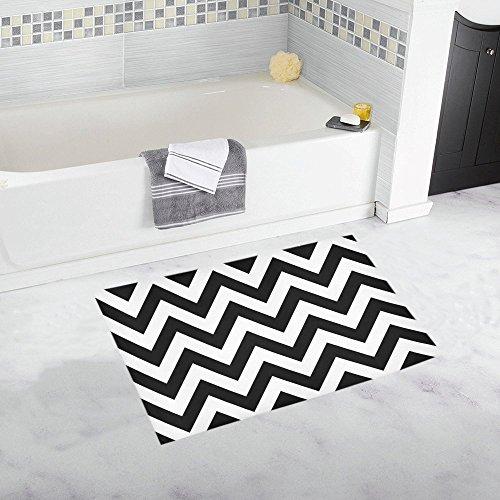 Interestprint Fashion Chevron Zig Zag Black And White