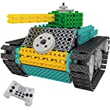 Robot Building Kit for Kids With Remote Control TG670 – Ingenious Machines Build Your Own Remote Control Tank ToyFor Boys & Girls – Electronic Educational Construction Toy By ThinkGizmos