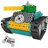 Robot Building Kit for Kids With Remote Control TG670 – Ingenious Machines Build Your Own Remote Control Tank Toy For Boys & Girls – Electronic Educational Construction Toy By ThinkGizmos