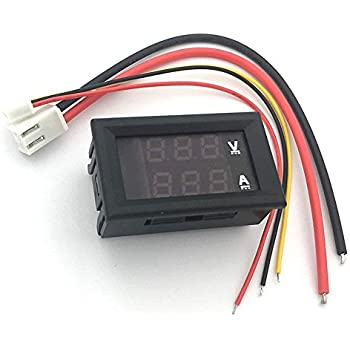 SMAKN® AC/DC Powered 4 Wire DC 0-200mV LCD Panel Volt Meter ... on