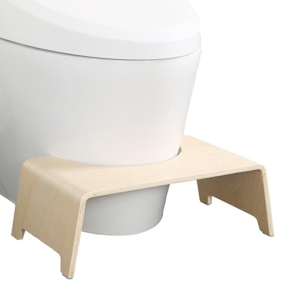 Buen taburete Chen- Taburete de tocador Taburete/Madera Maciza Antideslizante Sentado Taburete/Taburete de tocador Almohadilla pies Taburete