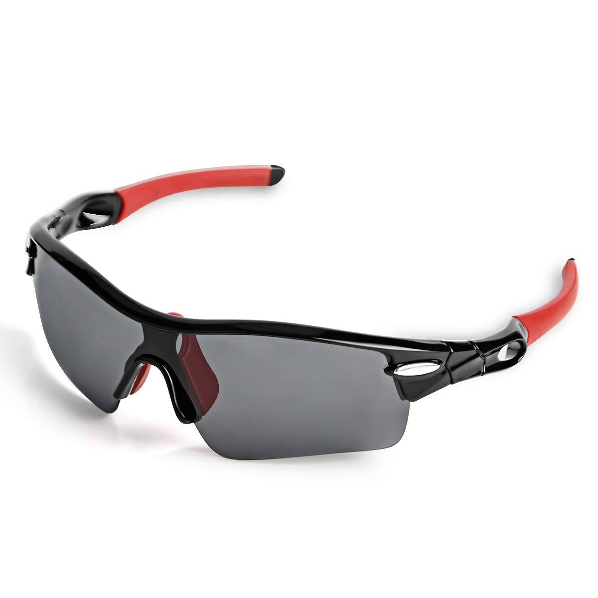 7b8fb64fb1 WONGKUO Polarized Sports Sunglasses for Men Women 5 Interchangeable Lenses  at Amazon Men s Clothing store