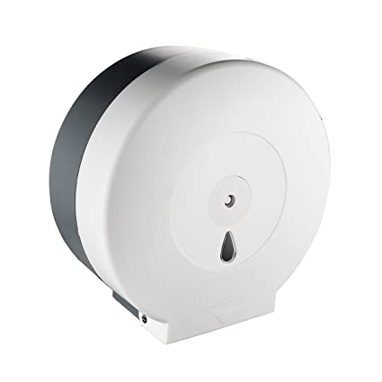Tecmolog Dispensador de Papel en Rollo Plastico ABS Potarollos de Papel Higiénico Suspensión de Dispensador Papel