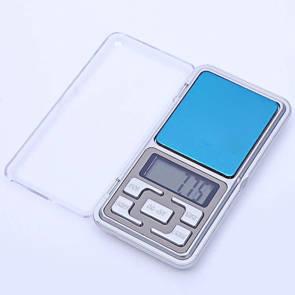 Pantalla LCD joyer/ía electr/ónica ENticerowts B/áscula electr/ónica b/áscula de joyer/ía de Cocina b/áscula de pesaje para tel/éfono sensores de precisi/ón Peso