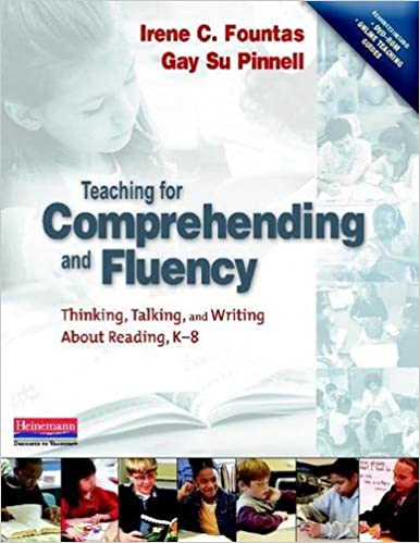 Amazon.com: Teaching for Comprehending and Fluency: Thinking ...