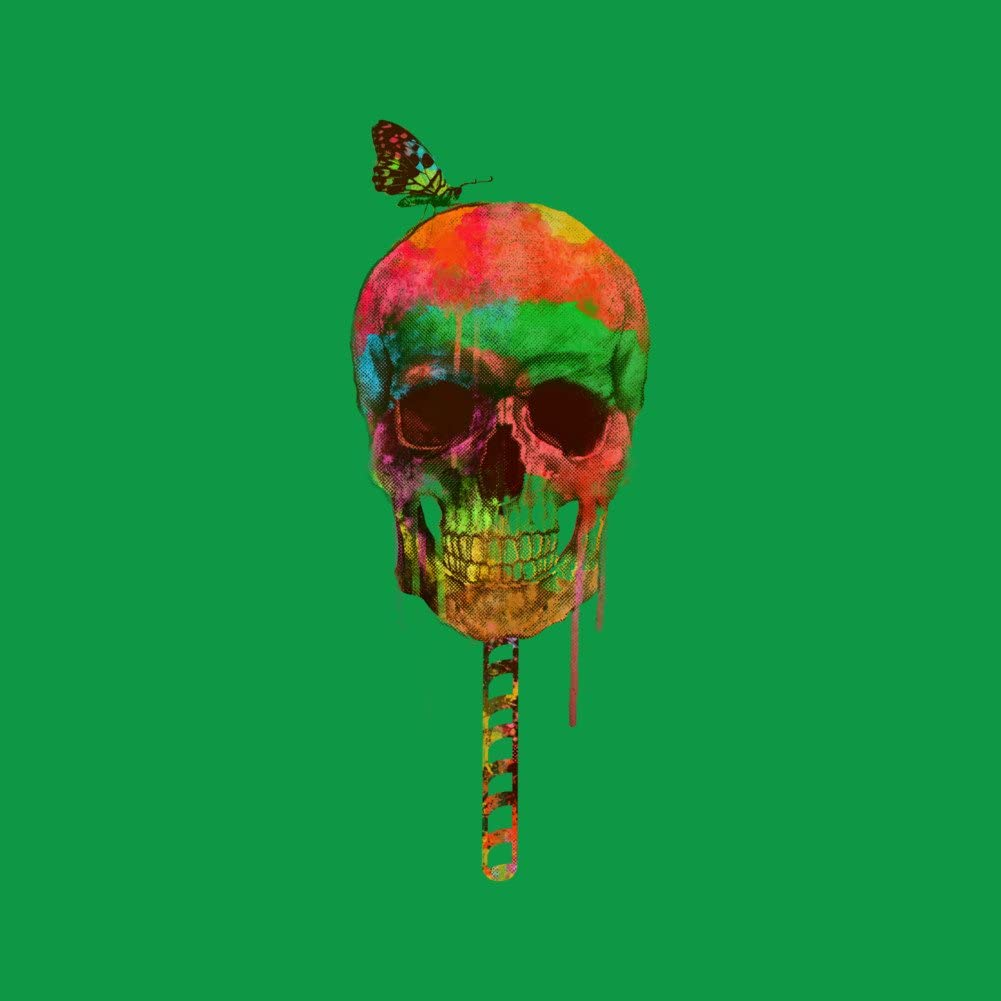 Design By Humans Skull/_Candy Boys Youth Graphic T Shirt