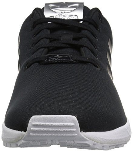 Adidas Originali Da Donna Zx Flux W Scarpa Da Corsa Nero / Nero / Argento Metallizzato