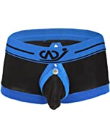 YiZYiF Men's Boxer Brief Buckled Pouch Shorts Underwear Sold by SHIFANG